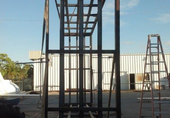 Metal structure fabrication