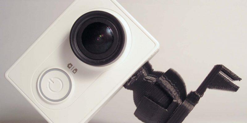 3D printed camera mount