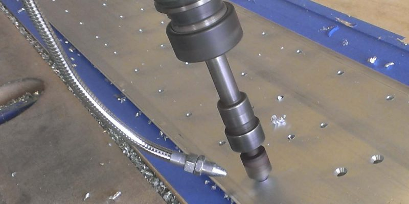 3 Axis hole drilling and countersinking